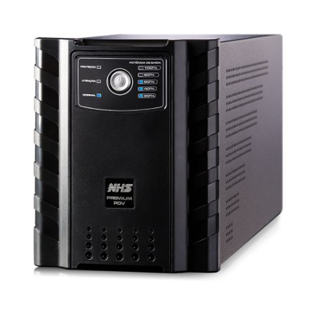 NOBREAK PREMIUM 1500VA NHS COM USB 1 X 58AH ESTACIONÁRIA SAÍDAS 120V - 90.D0.015100