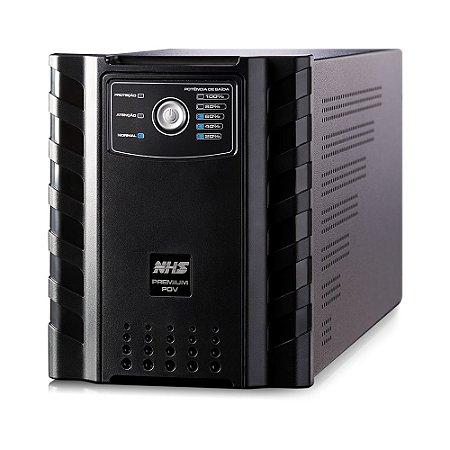 NOBREAK PREMIUM 1500VA NHS COM USB 1 X 58AH ESTACIONÁRIA SAÍDAS 220V - 90.D0.015101