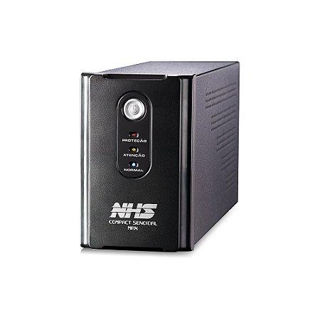 NOBREAK COMPACT SENOIDAL MAX 1400VA NHS COM ENGATE E USB BIVOLT SAÍDAS 220V - 91.B0.014103
