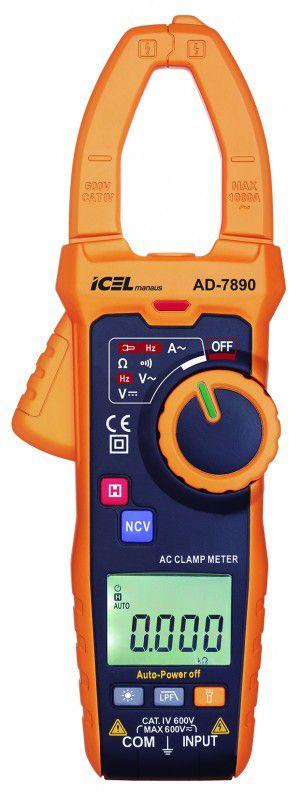 Amperímetro Ad-7890 Icel Detecção De Tensão Sem Contato