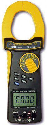 Alicate Amperímetro Digital Icel Ad-9400 - 2.000a Dc/ac