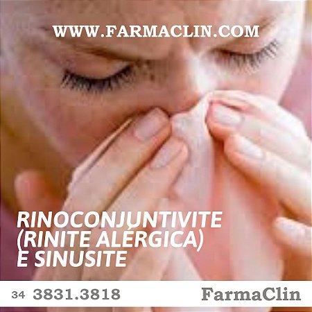 Rinoconjuntivite (rinite alérgica) e Sinusite