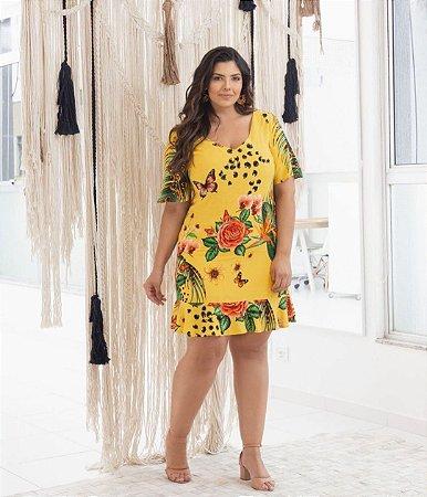 Vestido Estampado Ariane