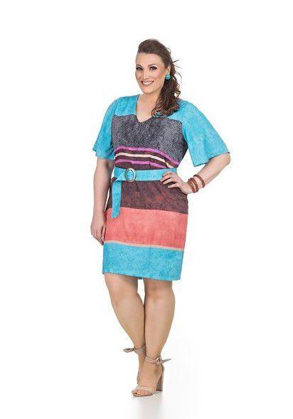 Vestido Plus Size Serena