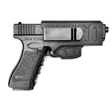 Coldre Velado Só Coldres Para Glock - Destro