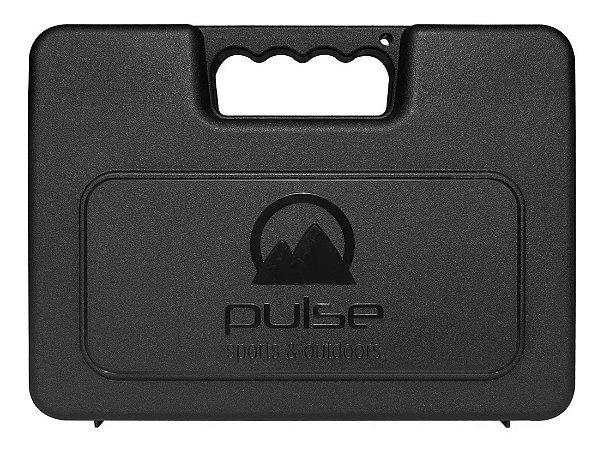 Maleta Para Armas Curtas Pulse  P30  Cor Preta