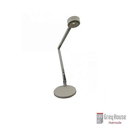 Luminária de Mesa Cinza com Led Dimerizável | Grey House