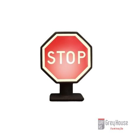Luminária Stop   Grey House