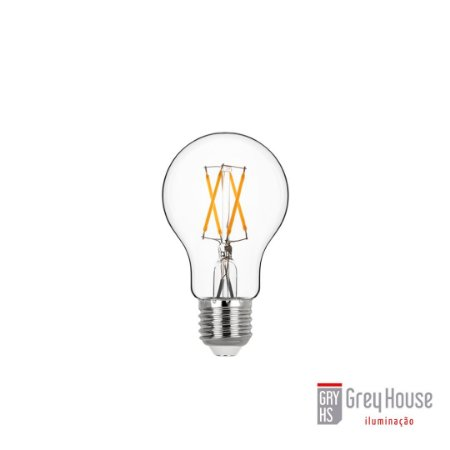 Lâmpada Bulbo Filamento 4W 400lm 2700K   Grey House
