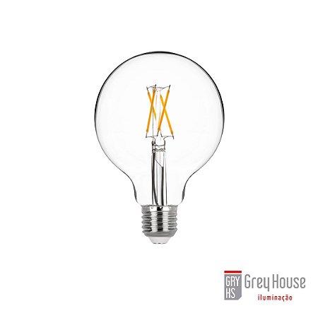 Lâmpada G95 Ballon Filamento 4W 400lm 2700K   Grey House