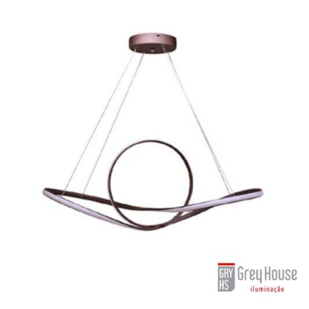 Pendente Circular 90W Led 3000k | Grey House