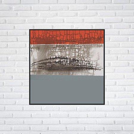 Quadro Decorativo Moldura Filete 50 x 50 cm  | All Arts