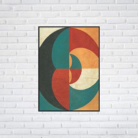 Quadro Decorativo Moldura Filete 50 x 70 cm   All Arts