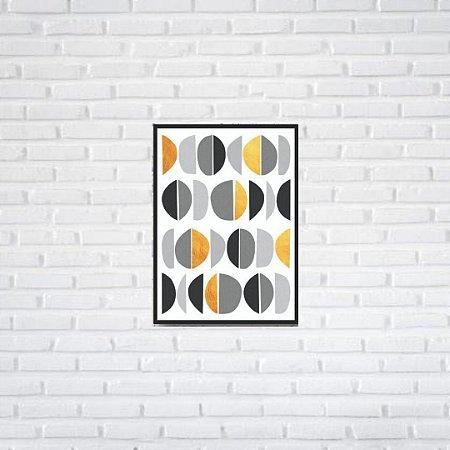 Quadro Decorativo Moldura Filete 50 x 35 cm | All Arts