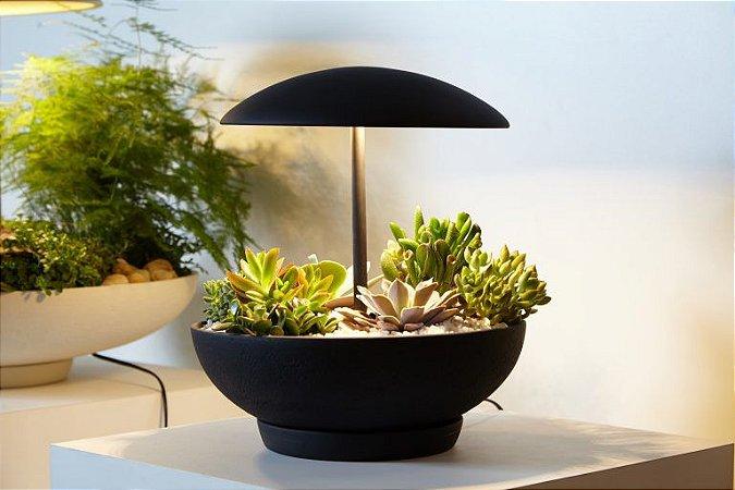 Luminária de Mesa Garden I em Cerâmica 30 x 35 cm | Geo Luz e Cerâmica