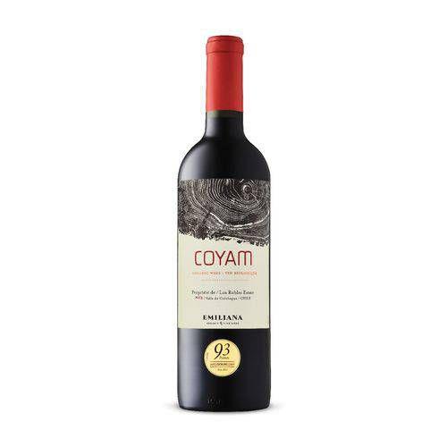 Vinho Tinto Orgânico Emiliana Coyam 750ml