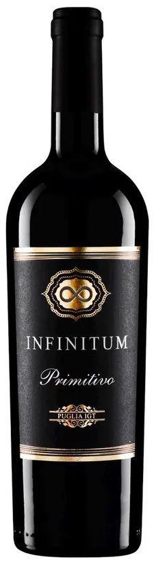 Vinho Tinto Infinitum Primitivo IGT 750ml