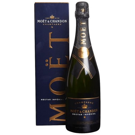 Champagne Moët & Chandon Nectar Imperial com Cartucho 750ml
