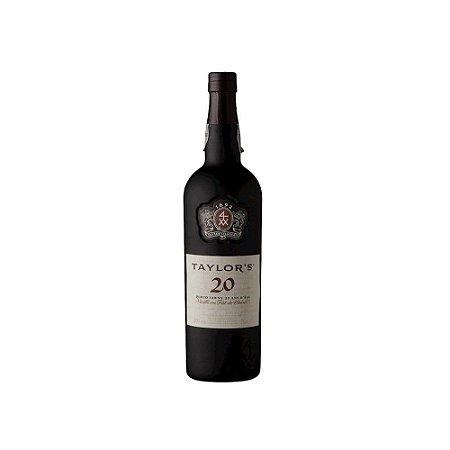 Vinho Tinto Porto Taylor's Tawny 20 Anos 375ml