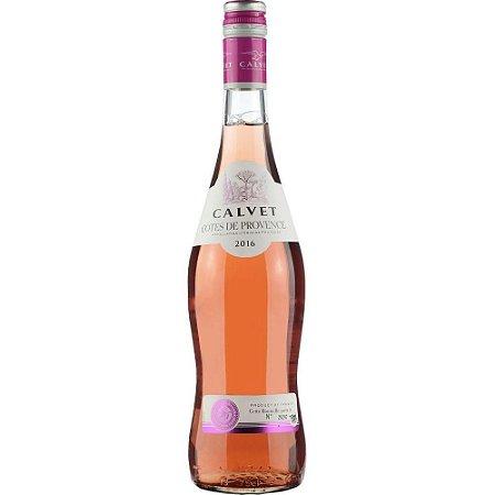 Vinho Rosé Francês Calvet Côtes de Provence 750ml