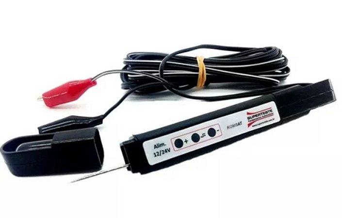 Caneta Teste Elétrica Polaridade 12 V E 24 Volts Superteste