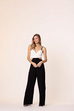 Macacão Pantalona P&B