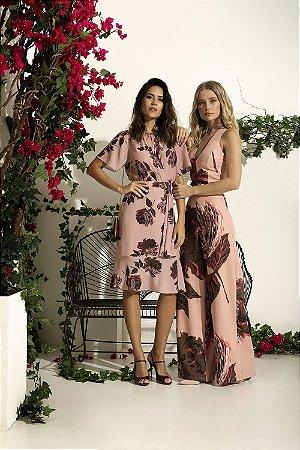 Vestido Midi Floral