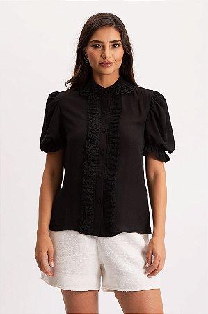 Camisa Babados Cenote