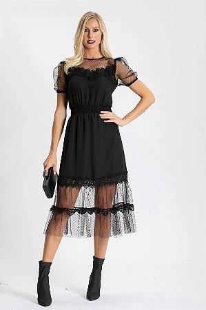 Vestido Midi Mirelle