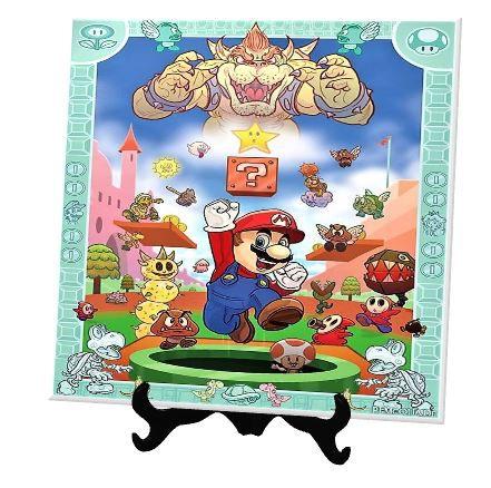 Azulejo Personalizado Super Mario