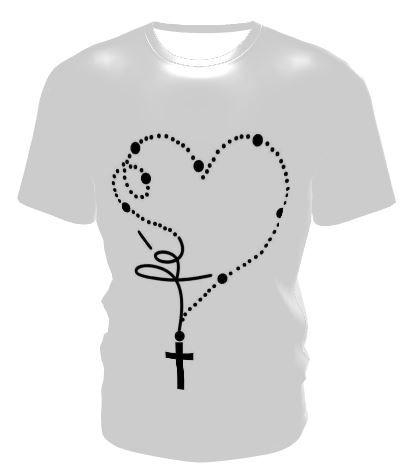 Camiseta Personalizada Santo Terço