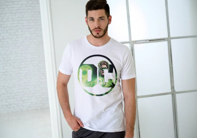 Camiseta Personalizada DC Lanterna Verde