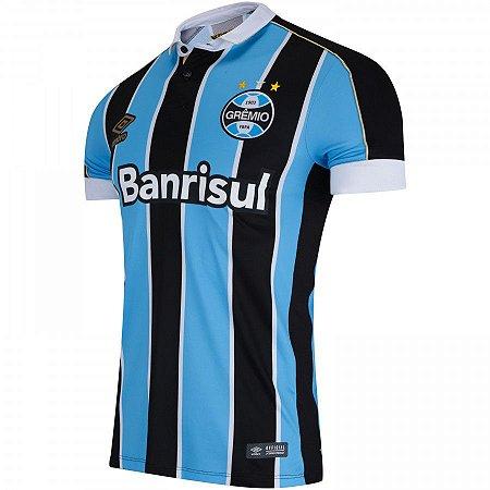 33bda0195db1d Camisa Umbro Nova Grêmio Tricolor Masculina 2019 - Base Sports
