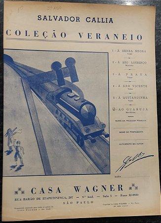 AO GUARUJÁ - partitura para piano - Salvador Callia