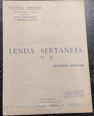 LENDA SERTANEJA N° 2 - partitura para piano - Francisco Mignone
