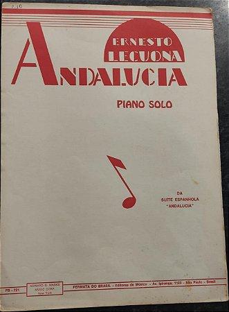 ANDALUCIA - partitura para piano - Ernesto Lecuona