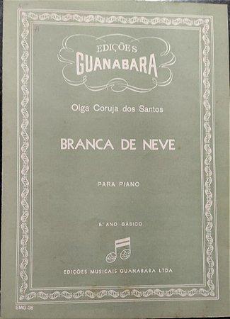 BRANCA DE NEVE - partitura para piano - Olga Coruja dos Santos