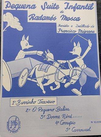 BURRICO TRAVESSO - partitura para piano - Radamés Mosca