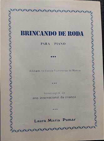 BRINCANDO DE RODA - partitura de piano - Laura Maria Pumar