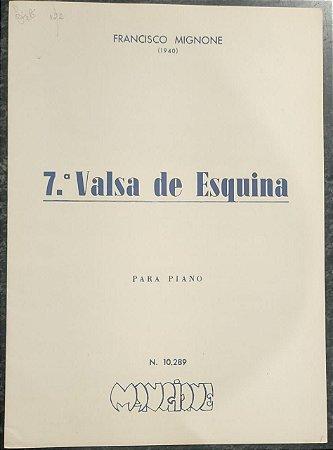 VALSA DE ESQUINA N° 7 - partitura para piano – Francisco Mignone