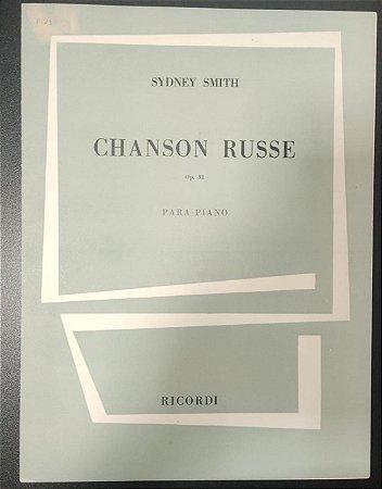 CANÇÃO RUSSA (Chanson Russe) Opus 31 – partitura para piano – Sydney Smith (Ricordi)