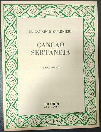 CANÇÃO SERTANEJA - partitura para piano - M. Camargo Guarnieri