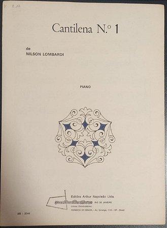 CANTINELA N° 1 - partitura para piano - Nilson Lombardi