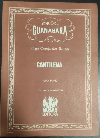 CANTINELA - partitura para piano - Olga Coruja dos Santos