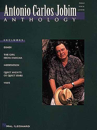 ANTONIO CARLOS JOBIM - ANTHOLOGY (piano, vocal, guitar)