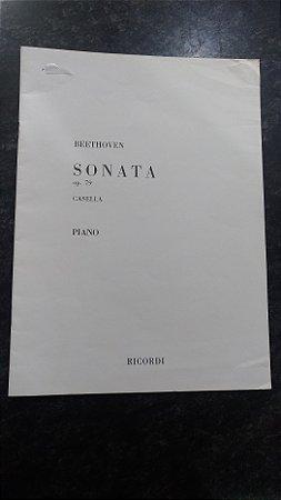 BEETHOVEN - SONATA OPUS 79 PARA PIANO