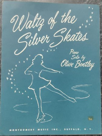 WALTZ OF THE SILVER SKATES - partitura para piano - Olive Bentley