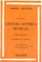CURSO DE LEITURA RÍTMICA MUSICAL - Vol. 3 - Samuel Arcanjo
