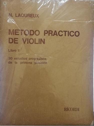 MÉTODO PRACTICO DE VIOLIN -  Vol. 2 - Nicolas Laoureux