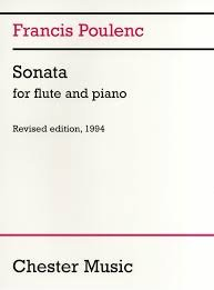 SONATA FOR FLUTE AND PIANO - Francis Poulenc